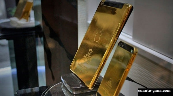 iphone de oro